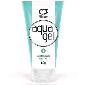 Aqua Gel Lubrificante Beijável NEUTRO 60 Gr Sexy Fantasy