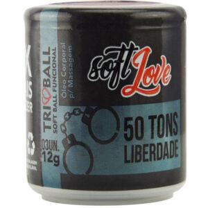 Bolinha Explosiva Triball 50 Tons de Liberdade 12Gr 03 Uni Soft Love