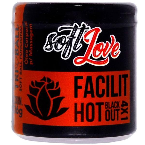 Bolinha Explosiva Triball Facilit Anal 12Gr 03 Uni Soft Love