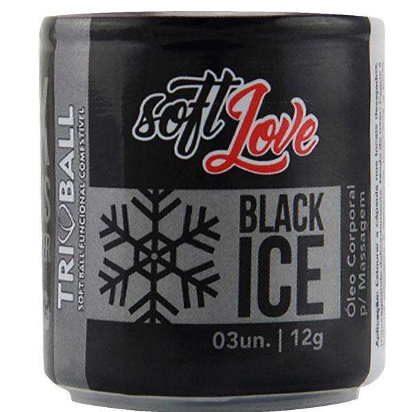 Bolinha Explosiva Triball Ice (Black Ice) 12Gr 03 Uni Soft Love