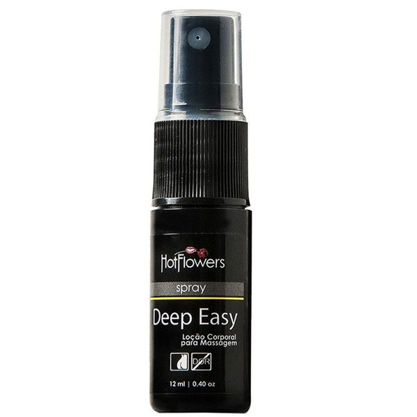 Deep Easy Loção Corporal em Spray 12ml Hot Flowers