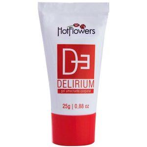 Delirium Excitante Bisnaga Vermelha 25 Gr Hot Flowers