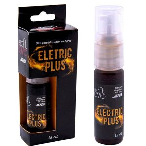 Óleo para Massagem em Spray Eletric Plus 15ml Soft Love