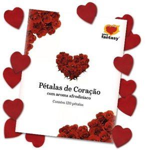 Pétalas Rosas Aromáticas 120 unid Sexy Fantasy