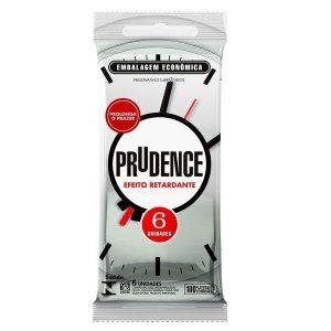 Preservativo Efeito Retardante 6 unidades Prudence