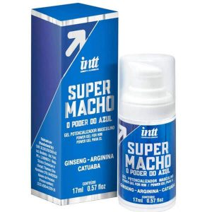 Super Macho o Poder do Azul Gel Potencializador 17 ML Intt