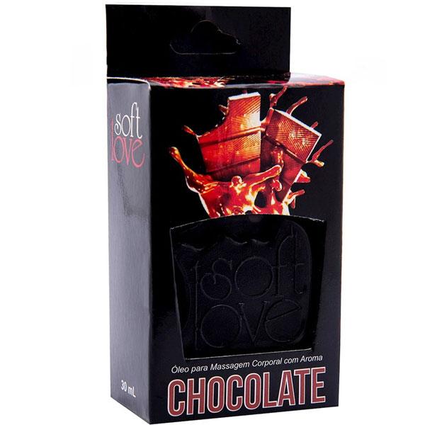 Gel Hot Comestível 30 Ml Soft Love Chocolate